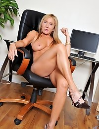 Fantasize about Anilos Luna a hot blonde secretary who loves to get naughty in the office